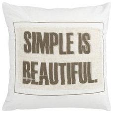 Modern Pillows by Splendid Willow