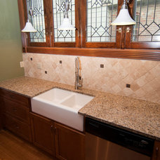 Traditional Tile by BBG Construction