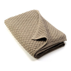 Sefte Kantu Woven Throw Mocha