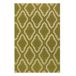Jill Rosenwald - Jill Rosenwald FAL1048-58 Fallon Transitional Hand Woven Wool Rug - From delicate lattice patterns to boldly colored chevron patterns the Fallon Collection makes a statement in flat weave; from creator Jill Rosenwald known for her beautifully colored, hand-made ceramics. The Fallon Collection's patterns and the hand woven flat weave construction beautifully combine to highlight its simplicity and sophistication. Fresh and fun patterned rugs with a strong designer color palettes.