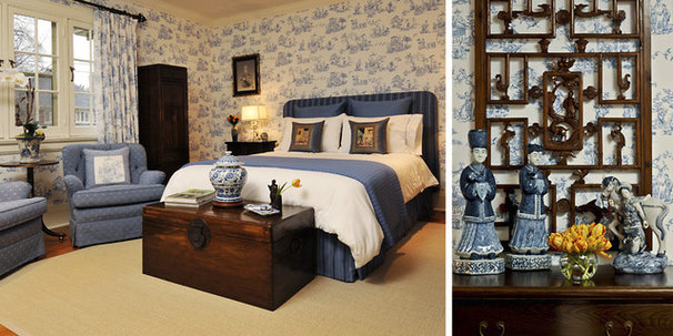 Asian Bedroom by Sheree Stuart Design