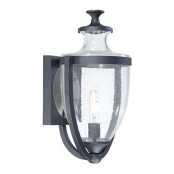 """The Great Outdoors - The Great Outdoors GO 9163 1 Light 20"""" Height Outdoor Wall Sconce from the Park - Single Light 20"""" Height Outdoor Wall Sconce from the Park Terrace CollectionFeatures:"""