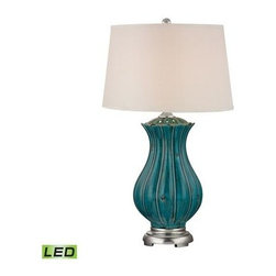 Dimond Lighting - Table Lamp - Dimond Lighting D2453-LED  in TALLAHASSEE TEAL
