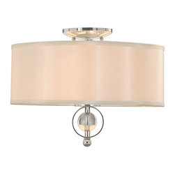 Golden Lighting - Cerchi Flush Mount - Transform your room in an instant with the warm radiance of this ceiling light. A refreshing alternative to traditional ceiling lighting, it simply exudes sophistication as creates alluring ambience.