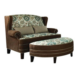 Chelsea Home Furniture - Chelsea Home 2-Piece Living Room Set in Voyager Cobblestone - Brown Eyed Girl - Cornelious 2-Piece living room set in Voyager Cobblestone - Brown Eyed Girl belongs to the Chelsea Home Furniture collection