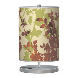 Leaf 1 Cylinder Table Lamp