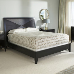 BrownstoneFurniture - Camden Panel Bed - The Camden Collection, driven by fashion forward design, stays relaxed with a crafted, artisan feel. Camden's solid mahogany hand carving conjures up the look of special collectibles from far away, but its silhouette remains elegant. Finished in a deep espresso, the Camden Collection works beautiful in any bedroom setting. Features: -Camden collection. -Finish: Espresso. -Hand carved mahogany detail. -Constructed of Solid Mahogany and veneers. -Fashion forward design, stays relaxed with a crafted artisan feel.