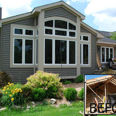 Traditional Exterior by M.J. Whelan Construction