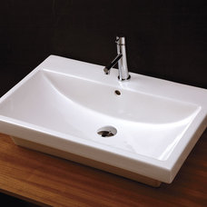 contemporary bathroom sinks by LACAVA