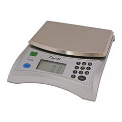 Escali Baking Scale Pana - A true convert weighs in. This professional quality food scale uses advanced technology to give you a true read with accurate, easy-to-read results. Convert those numbers from pounds into cups and tablespoons, or pounds into grams. Perfect for cooking, baking or weighing out portions for dieters.