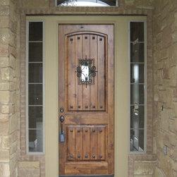 Estancia Entry Doors - Estancia single door by The Front Door Company.