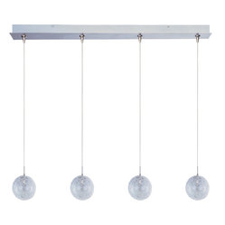 Minx 4-Light Linear Pendant