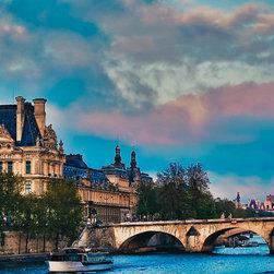 Blue Skies At The Louvre, Fine Art Photography Print, 10X15 - Taken April 2012, Paris, France