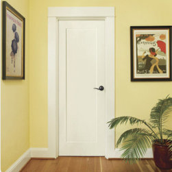Madison - An Interior Door with RANGE - Classic styling fits many decors.
