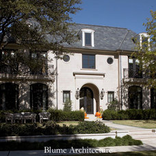 Traditional Exterior by Blume Architecture