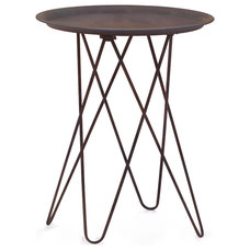 Industrial Side Tables And End Tables by Zuo Modern Contemporary