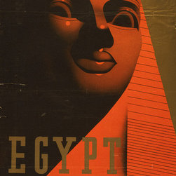 Keep Calm Collection - Egypt Travel Poster, art print - This product is reproduced from a publication, advertisement, or vintage poster. To maintain consistency with the original image, this final product has not been retouched. This print is produced on a 270 gsm fine art paper stock.