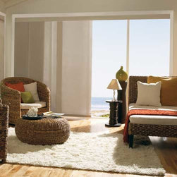 Levolor - Levolor Panel Track Blinds: Solar Screen 3 & Solar Screen 5 - Levolor panel track blinds offer a versatile solution for larger windows or as a room divider.  Protect your view and reduce glare with this 3% openness solar screen material for high light and glare reduction.