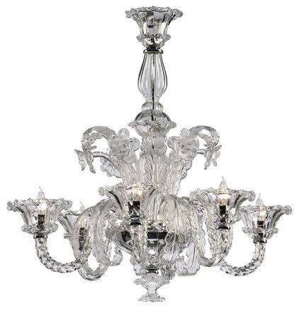 Traditional Chandeliers by Rebekah Zaveloff | KitchenLab