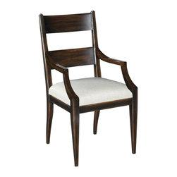 EuroLux Home - New Woodbridge Dalton Dining Arm Chair - Product Details