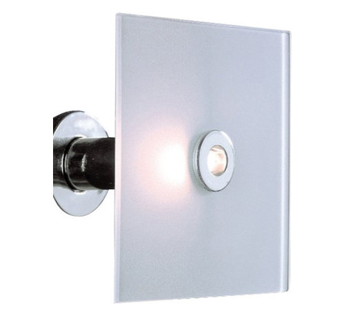 """Ultraluce - Ultraluce Cucu wall sconce - Square - The square Cucu wall sconce (PA/PL 15X15 and PA/PL 30X30) from Ultraluce was designed by Cambi, Scatena and Turini and made in Italy. The Cucu wall sconce is for indoor installation and made from metal and glass. It resembles slabs of ice with a light falls that flow rushing with energy. This fixture can also be used as a ceiling lamp.   Products description: The square Cucu wall sconce (PA/PL 15X15 and PA/PL 30X30) from Ultraluce was designed by Cambi, Scatena and Turini and made in Italy. The Cucu wall sconce is for indoor installation and made from metal and glass. It resembles slabs of ice with a light falls that flow rushing with energy. This fixture can also be used as a ceiling lamp.                                     Manufacturer:                                      Ultraluce                                                     Designer:                                      Cambi, Scatena, Turini                                                     Made  in:                                     Italy                                                     Dimensions:                                      Small: Height: 5.9"""" (15cm) X Width: 5.9"""" (15cm)             Large: Height: 11.8"""" (30cm) X Width: 11.8"""" (30cm)                                                     Light bulb:                                      1 X 60W G9                                                     Material                                      Metal, glass"""