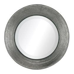 Sterling Industries - La Quinta-Mini Mirror In Hammered Metal Frame - La Quinta-Mini Mirror In Hammered Metal Frame