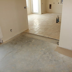 Residential new construction - Beverly Hills - First floor tile