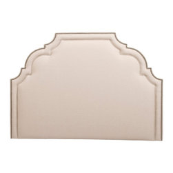 Leigh Headboard - This headboard is elegant and straight forward with curves are in all the right places.