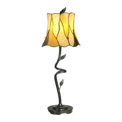 Dale Tiffany - New Dale Tiffany Table Lamp Hand Rolled - Product Details