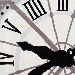 The Rug Market - Clock area rug -