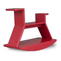 Rocking Horse - J.I.M's simple design is a modern take on the traditional rocking horse.