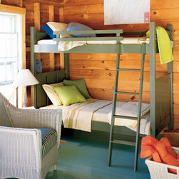 Shutter Bunk Bed - Bunk Beds are an ideal way to maximize space and share your gracious home. Go vertical baby!