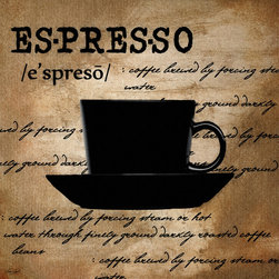 Espresso Madness - A wonderful Collection of Coffee Art which is elegantly and classically designed to complement any cafés, modern, contemporary and traditional kitchens perfectly.