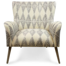 Contemporary Armchairs And Accent Chairs by Furbish