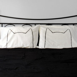 His and Hers Catnap Pillow Case Set