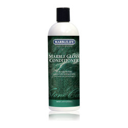 MARBLELIFE - MARBLELIFE Marble Gloss Conditioner 15 fl. oz. - Many refer to this type of product as a polish, however, with marble, travertine and other natural stone they are actually referring to a conditioner.  Marblelife Marble Gloss Conditioner is a great way to add a richer look to the stones color and shine.  This conditioner is the final step in caring for your marble, travertine or other natural stone.  The difference between boring looking marble and wow looking marble is Marblelife Marble Gloss Conditioner.  It's a safe, easy to use, odorless product that should be in every vanity or cabinet supporting a marble countertop.