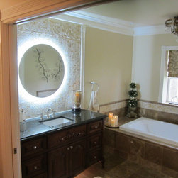 """Lighted Mirrors for every Bath 36"""" Side Lighted MAM2D36 -"""