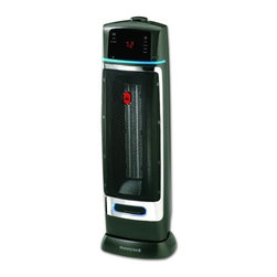 Kaz Inc - Honeywell Safety Sensor Tower Heater - Honeywell Safety Sensor Infra-Red Technology senses when objects are too close and turns the heater off until the object is removed.