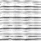 Fabric Shower Curtain - Stripes - Is your old shower curtain towing the line when it comes to style? Time to switch to one that knows how to earn its stripes. Oh-so-chic in shades of gray and white, this polyester fabric curtain is machine washable, quick to dry and has a weighted bottom hem.