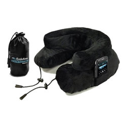 "Core Products International - Inflatable Travel Neck Pillow, Black - This great inflatable roll pillow is the most convenient bolster you need to rest comfortably wherever you go, because it is very easy to pack while traveling. In fact, the Inflatable Travel Neck Pillow only measures 4"" x 16.5"", and you can fold and carry it wherever in any bag without any problems. The Inflatable Travel Neck Pillow has a comfortable cover that is made with a very soft to the touch and comes in an elegant blue color. Also, Its material is very resistant and durable, that will protect your travel roll and make it last many years. Multi functional Inflatable Travel Neck Pillow The Inflatable Travel Neck Pillow is a very useful bolster because you can use it as:"