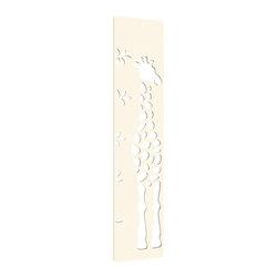 numi numi design - Xylophones - The Explorer (Giraffe) Growth Chart - Tall Fact: