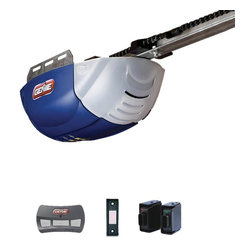 Genie - Genie ChainLift 600 1/2 HP Chain Drive Garage Door Opener Multicolor - 36255R - Shop for Garage Doors Openers and Accessories from Hayneedle.com! The Genie ChainLift 600 1/2 HP Chain Drive Garage Door Opener lets you update your garage door into the 21st century. A three-button remote lets you open the door from the outside with an illuminated wall-button for interior open/close. An Intellicode rolling-code encryption prevents unauthorized access changing the code after each use. A dual-pinion gear chain drive system is serviced by a 24Volt DC motor for long-lasting quiet operation. A self-diagnostic system and easy tension adjustment makes this a low-maintenance unit. A combination of Safe-T-Beam infrared sensors and an automatic reverse system keep you protected. About Genie Company Your wish is the Genie Company's command. Each of their products is constructed with a focus on superior design reliability and safety that's so satisfactory you'd swear it's magic. For over 50 years Genie has provided America with automatic residential garage openers quickly becoming an industry leader. In addition to their garage hardware Genie also offers a number of products for the home including vacuums. For homeowners and commercial users alike Genie has a wide array of products that's perfect for you.