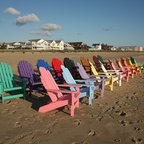 Siesta Bayfront Adirondack Chair - Siesta furniture is constructed using 100% recycled maintenance free plastic, ensuring generations of beauty and style. The dimensional plastic lumber made of HDPE (high density polyethylene) is a dense material formulated from recycled milk jugs and cartons. Because of its dense nature it is heavier than wood. UV protection is mixed in. HDPE should not be confused with resin and other plastics that oxidize and become brittle over time. Nothing sticks to or stains HDPE, including red wine. If necessary it can be cleaned with any household cleanser, and will even withstand bleach.