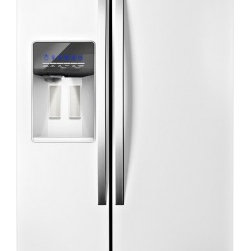 "Whirlpool - WRS526SIAH 36"" 26.4 cu. ft. Capacity Side-by-Side Refrigerator with In-Door-Ice - Keep your favorite food tasting great with a refrigerator that offers greater storage and flexibility The In-Door-Ice Plus system not only opens up more space in the freezer it also features a removable bin that tilts out and can be placed on the cou..."