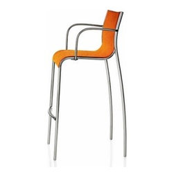 Magis - Magis | Paso Doble Barstool with Arms, Set of 2 - Design by Stefano Giovannoni, 2009.