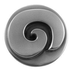"Circles - Lamdmark Metalcoat - Smooth Swirl Deco 3.25"" in diameter"