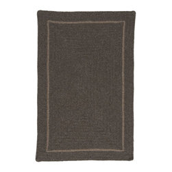 Colonial Mills - Colonial Mills Shear Natural EN35 Rural Earth Rug EN35R144X180R 12x15 - Go green and spruce up your earth-friendly decorating with this sharp contoured, eco-natural, dye-free wool rug.
