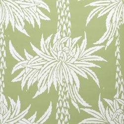 Sporting d'Ete Wallpaper, Snow on Snowpea - Wouldn't this make such a dramatic wallpaper for an entryway?