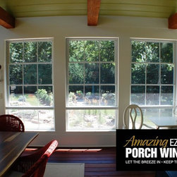 """""""The Tree House' - Minnetonka, Minnesota - Courtesy of the Owner and Amazing EZ Screen Porch Windows"""