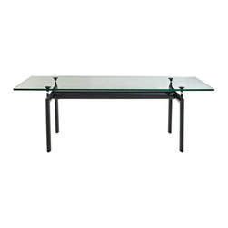 Charles Dining Table - Sublime symmetry and minimalist lines present a seamless finish to this revolutionary dining table. Temper idealist energy with balance and harmony to promote true progressive actualization. The Charles Dining Table is a centerpiece of perfect uniformity.